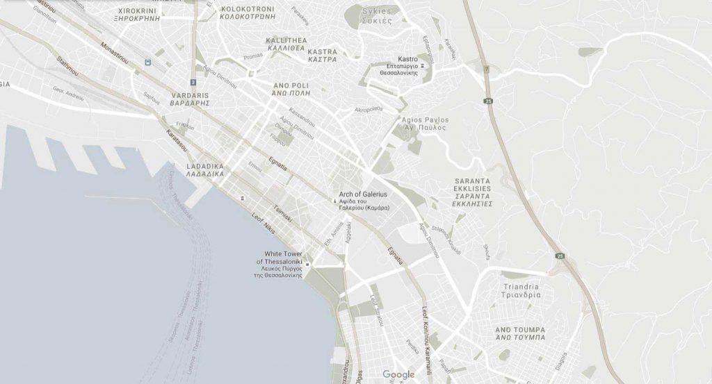 Map2 Dhmos 8essalonikhs