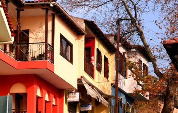 Άνω Πόλη - Σπίτια